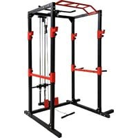 BodyTrain Professional Power Rack with Cable System