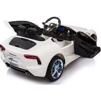Kids Electric Ride On Car Maserati Alfieri White