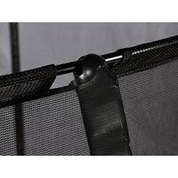 Air League 10ft Trampoline & Enclosure Black