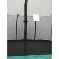 Velocity 8x12ft Green Rectangular Trampoline With Safety Enclosure