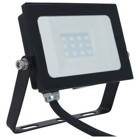 Phoebe LED Floodlight 10W Atlas-Mini IP65 (60W Equivalent) 4000K Cool White Black 750lm Floodlights Security External Outdoor Weatherproof Light