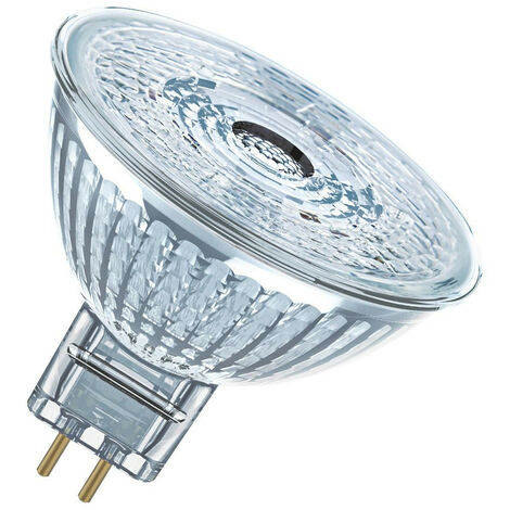 Osram LED MR16 Spotlight 4.9W GU5.3 12V Dimmable Parathom (35W Equivalent) 4000K Cool White 36° 350lm Replacement Light Bulb