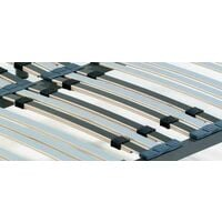 Somier multilaminas con reguladores lumbares 150X190-PATAS 26 CM