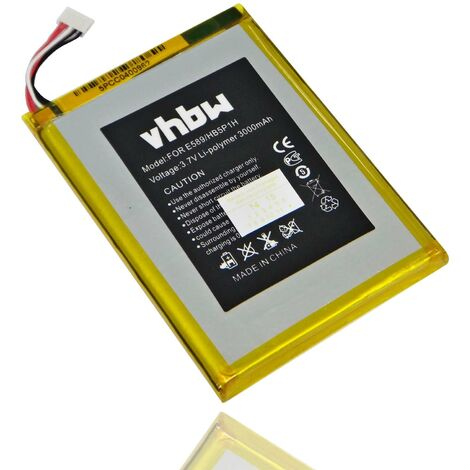 vhbw Replacement Battery compatible with Telekom Speedbox LTE, LTE+ mini Mobile Router Modem Hotspots (3000mAh, 3.7V, Li-Polymer)