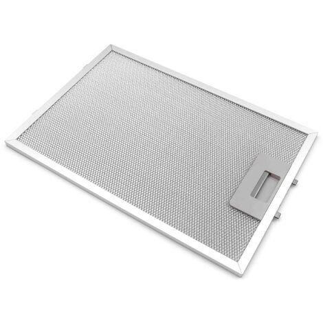 vhbw 1x Metal Grease Filter compatible with Bosch DKE685B/03, DKE685B/04, DKE685C/01, DKE685C/02, DKE685C/03 Extractor Fan, metal