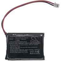 vhbw Battery Replacement for ViKLi PL-762229, V2015-E05 for Torch, Headlamp (400mAh, 3.7V, Li-Polymer)