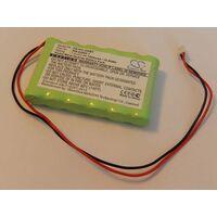 vhbw Replacement Battery compatible with Ademco WALYNX-RCHB-SC, WALYNX-RHCB-HC Alarm Units, Alarm Control, Home Security (1500mAh, 7.2V, NiMH)