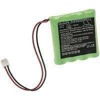 vhbw Replacement Battery compatible with AstralPool VX 11T, VX 13T, VX 6T, VX 7T, VX 9T, VX Salt Chlorinator Measuring Devices (700mAh, 4.8V, NiMH)