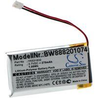 vhbw Battery compatible with Golfbuddy VT3 Measuring Devices (270mAh 3.7V Li-Polymer)