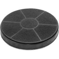 vhbw Replacement Filter Replacement for Moulinex AB6 for Deep Fat Fryer, Black, White