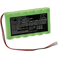 vhbw Replacement Battery compatible with Compex Theta-Pro, Theta Stim, Theta-Stim, Top Fitness Medical Equipment (1800mAh, 7.2V, NiMH)