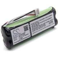 vhbw Replacement Battery compatible with Fresenius Applix Pump Smart, Smart Long Nutrition Pump, Vial EP Medical Equipment (1200mAh, 4.8V, NiMH)