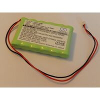 vhbw Replacement Battery compatible with ADT Pulse TS Keypad Alarm Units, Alarm Control, Home Security (1500mAh, 7.2V, NiMH)