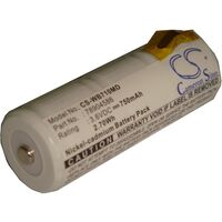 vhbw Replacement Battery compatible with Keeler Vista Ophthalmoscope Medical Equipment (750mAh, 3.6V, NiCd)