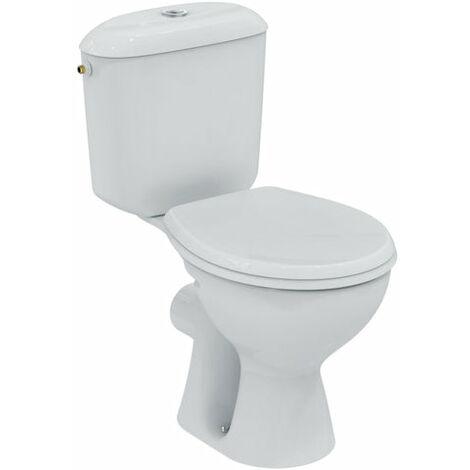 Pack WC pret a poser PORCHER NOE, sortie horizontale, blanc, Ref.P948001