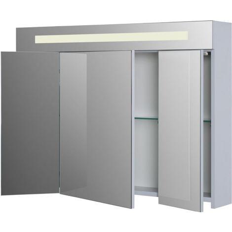 Armoire de toilette ALTERNA SEDUCTA 90 cm avec eclairage LED