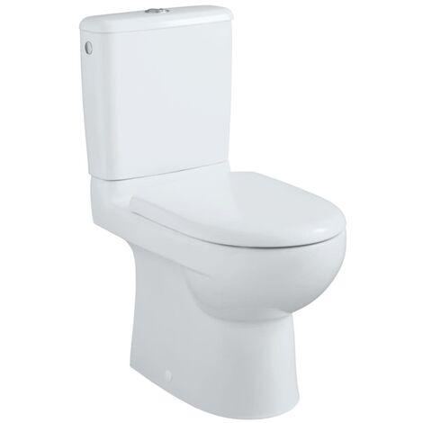 Pack WC GEBERIT PRIMA multi mecanisme general abattant frein de chute, blanc Ref. 08324300000101