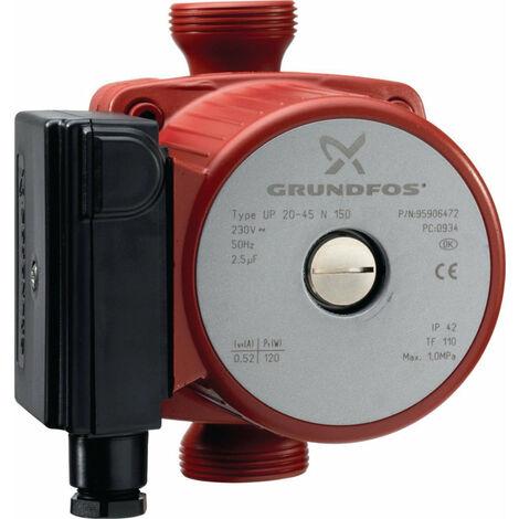 Circulateur GRUNDFOSS UP 20 - 15 N ref. 59641500