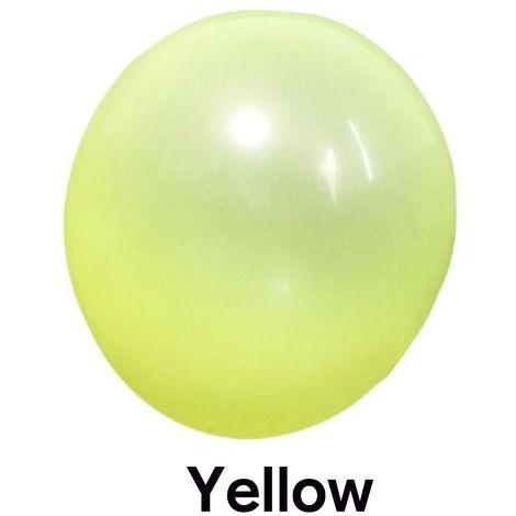 Aufblasbare Bubble Ball Spielzeug - Ø 120cm - Für Kinder ab 5 Jahren GELB