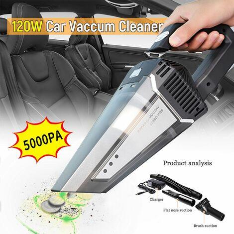 120W Aspirateur Voiture sans Fil Aspirateur à Main Domestique Portable Rechargeable