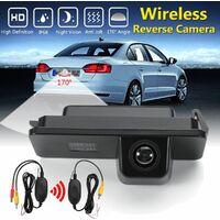 170° Caméra de Recul Vue Arrière Sans Fil Automatique CCD Pour VW Golf MK4 Passat CC Seat Altea
