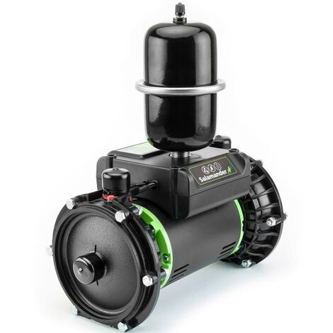 Salamander RP50TU 1.5 Bar Right Twin Impeller Shower Pump Negative Head & Hoses