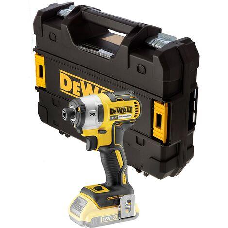 Dewalt DCF887N 18V XR G2 Brushless 3 Speed Impact Driver Bare Unit + Tstak Case