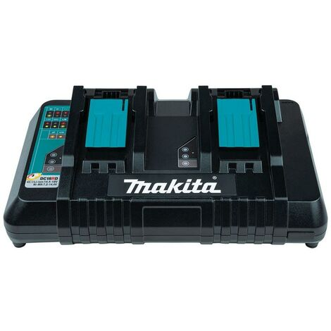 Makita DC18RD LXT Lithium Ion 240v 18v Dual Port Fast Battery Charger
