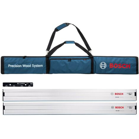 Bosch 0615990EE8 FSN Professional Plunge Saw Guide Kit 2 x 1600mm Rails in Bag