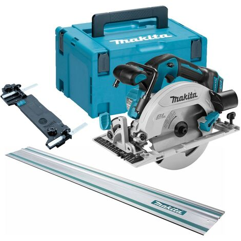 Makita DHS680Z 18v Lithium Brushless Circular Saw 165mm Bare + MakPac 1.5m Rail