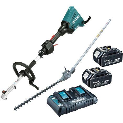 Makita DUX60PT2 Brushless 18v 36v Cordless Split Shaft Multi Tool Hedge Trimmer