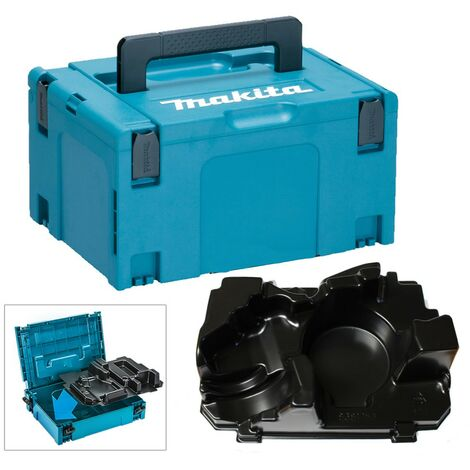 Makita 18v Angle Grinder Makpac Tool Case and Inlay for DGA458 DGA454 DGA455