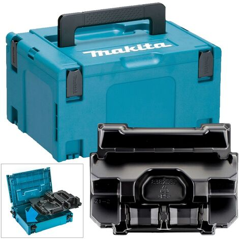 Makita 18v Type 3 Power Source Battery Charger Makpac Case DC18RD DC18RC BL1850