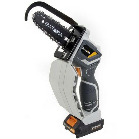 Batavia 7063726 Nexxsaw Cordless One Handed Chainsaw + 1 x 2.0Ah Battery