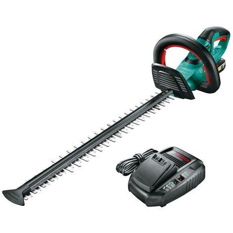 Bosch AHS 55-20 Li-Ion Cordless Hedge Cutter Garden Trimmer + Battery