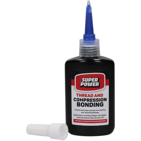 Super Power Thread and Compression Bonding Copper Aluminium Stainless Steel 50ml