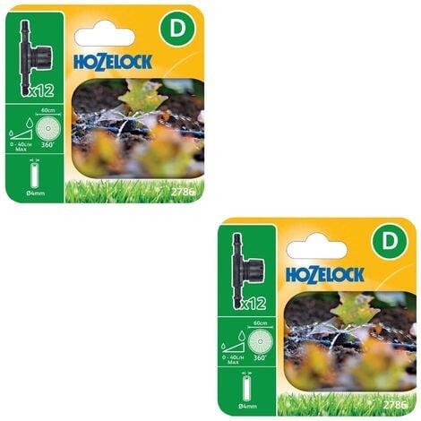 10 x Hozelock 2786 In Line Adjustable Mini Sprinkler 4mm 2786 Automatic Watering