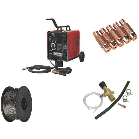 Sealey MIGHTYMIG150 Professional MIG Welder 150amp 230v With Gas Conversion Kit