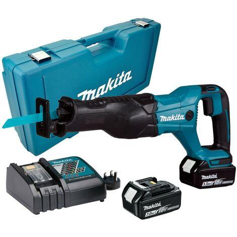 Makita DJR186RFE 18v LXT Reciprocating Recip Sabre Saw - 2 x 3.0ah Batteries