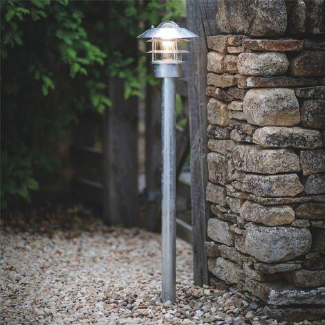 Garden Trading St Ives Strand Post Path Mains Garden Light Galvanised Steel