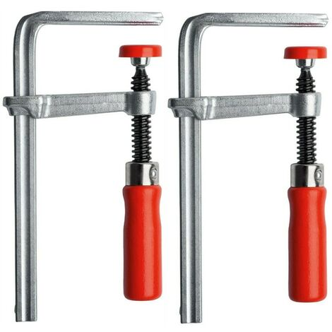 Bessey Guide Rail Plunge Saw Steel Table Clamps GTR 120/60 BE104908 Twin Pack