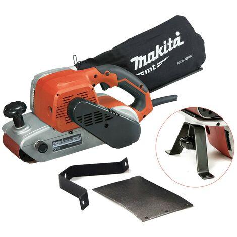 """Makita M9400 4"""" 100 x 610mm Heavy Duty Belt Sander & Dust Bag 240v + Belt 9404"""