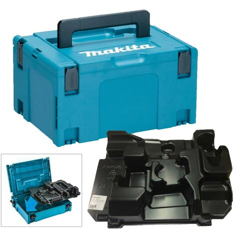 Makita 18v Tool Case Toolbox Twin Pack Case Makpac for Combi Drill Impact Driver