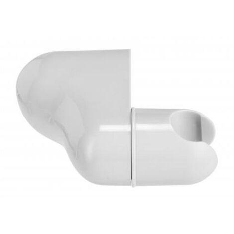 Croydex Universal White Shower Head Bracket Wall Mounted Adjustable AM150622