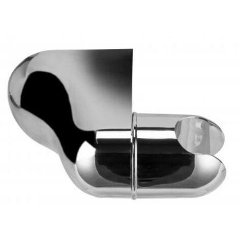 Croydex Universal Chrome Shower Head Bracket Wall Mounted Adjustable AM150641