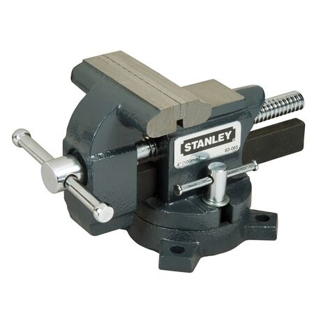 Stanley STA183065 MaxSteel Light-Duty Bench Mounted Vice 100mm 4in 1-83-065