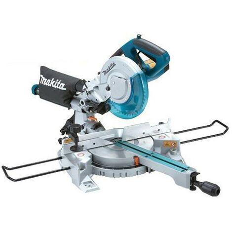 """Makita LS0815FL 110v 216mm 8.5"""" Slide Compound Mitre Saw Laser Guide Inc Blade"""