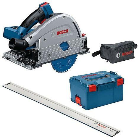 Bosch GKT18V-GC 18v BITURBO Brushless Plunge Saw 140mm + LBOXX + 1.1m Guide Rail