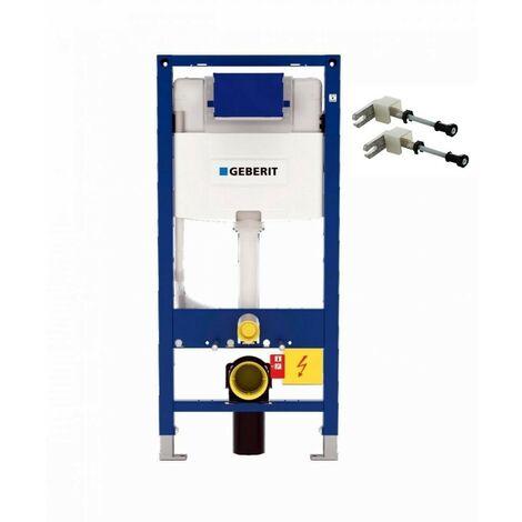 Geberit Duofix 1.12m WC Toilet Frame 12cm Omega Cistern Wall Brackets + WC Bend