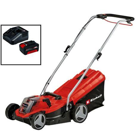 Einhell Power X Change Cordless 18v Battery Lawnmower 33cm Lawn Mower 3413260